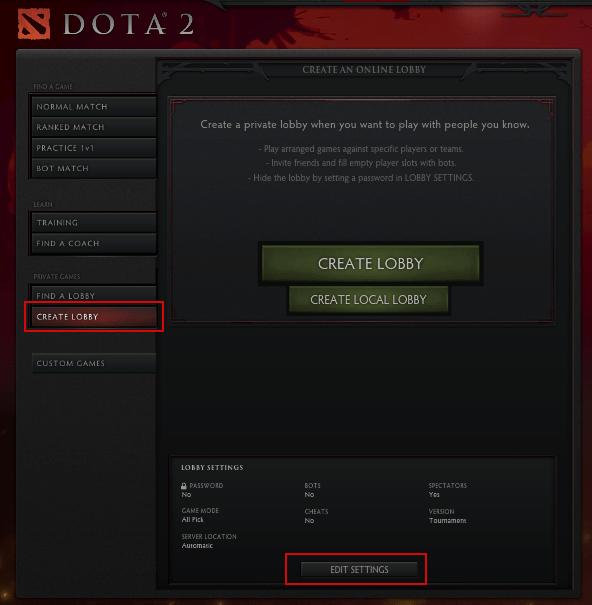 Dota 2 Game Hub