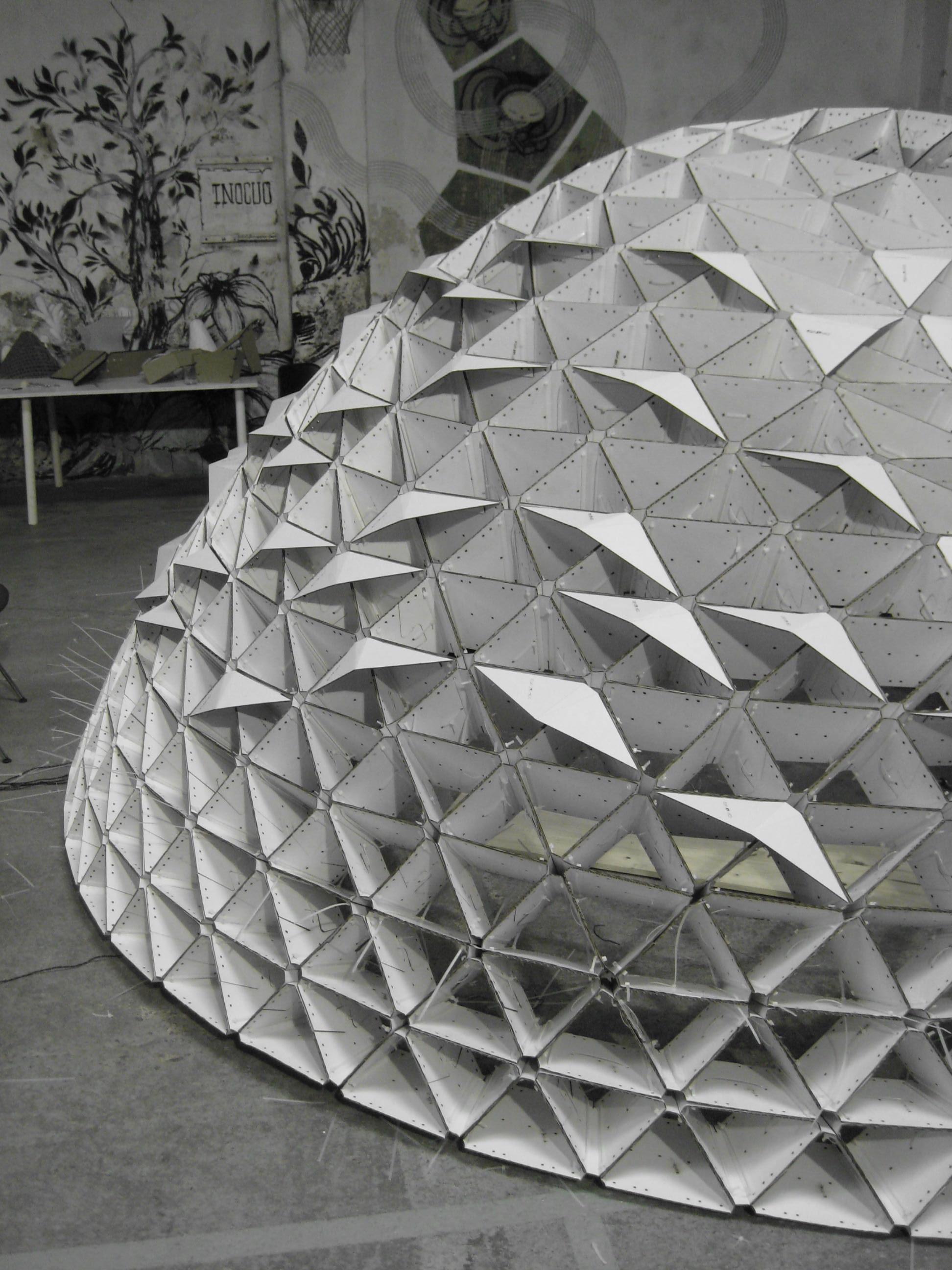 Parametric Pavilion Design Fabrication Gmik