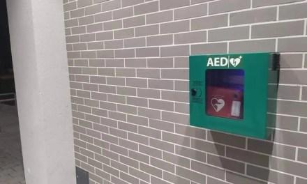 AED na Kamionkowej Szkole