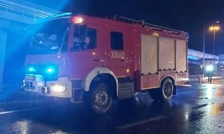 Wypadek S11 na wysokości Borówca