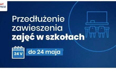 Szkoły dalej zawieszone, terminy egzaminów ! – Konferencja Rządu.