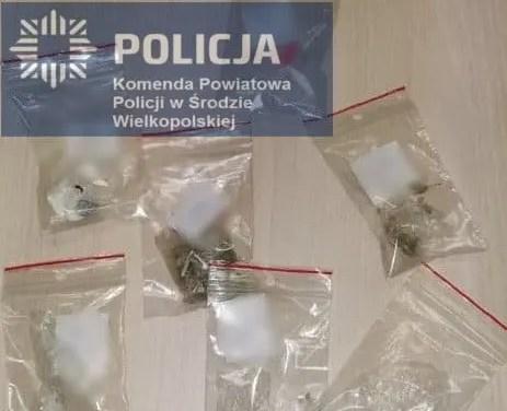 5 mężczyzn zatrzymanych z narkotykami w Środzie Wielkopolskiej.