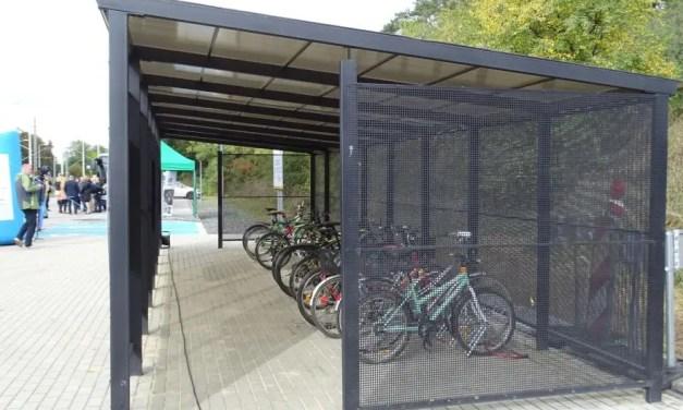 Projekt – Wiata rowerowa w Kamionkach.