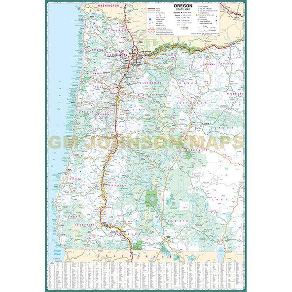 Map Medford Oregon