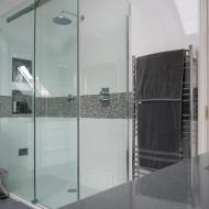 Bathroom Built To Customers Exacting Specifications. Property In Royston.