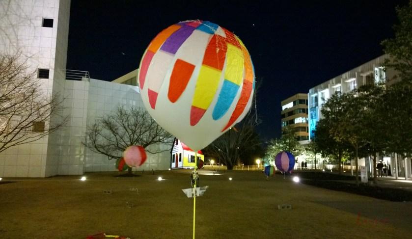 Balloons, Woodruff Arts Center, 16 January 2014