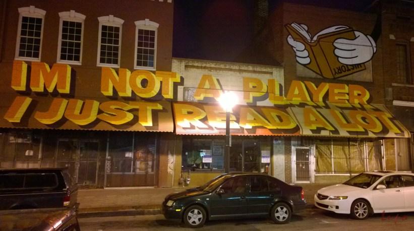 Not a Player, Atlanta, GA, 26 February 2014