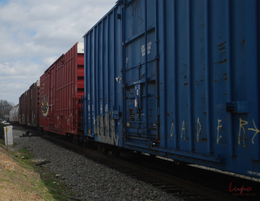 Trains, Chamblee, GA, 8 March 2009