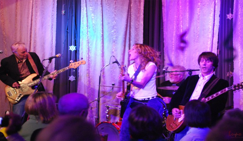 Michelle Malone at Eddie's Attic, New Year's Eve, 31 December 20