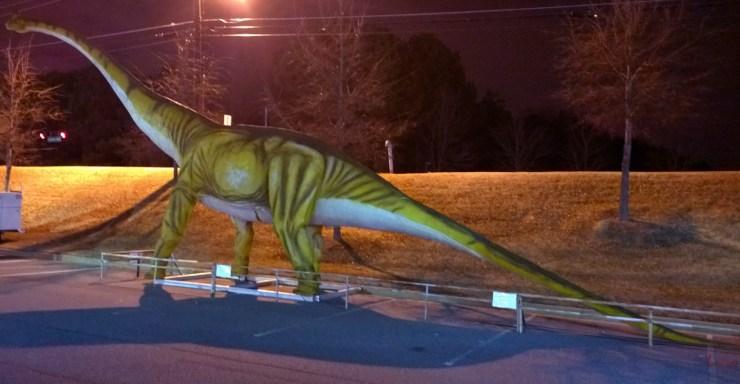 Dinosaur, Satellite Blvd, Norcross, GA, 31 January 2015, #1
