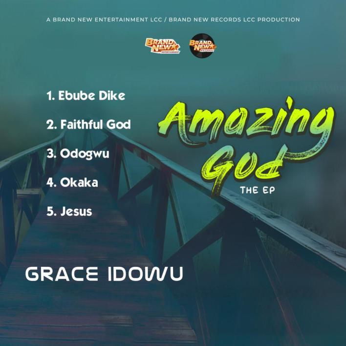 Grace Idowu - Amazing God EP Back Cover