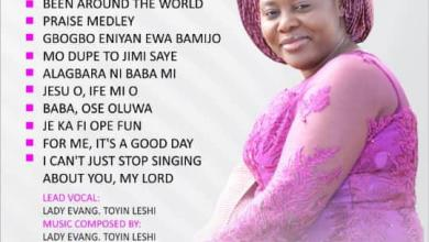 Photo of Evang. Toyin Leshi – My Love Song (Album Download)