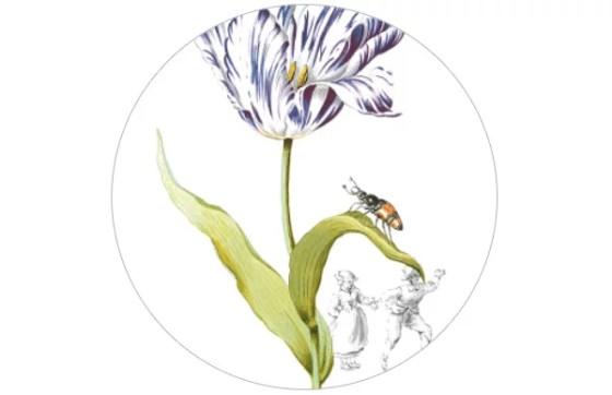 "Blumen Tapete""Lilliput"""