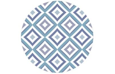 Designer Diamant Tapete schwarz grau weiß