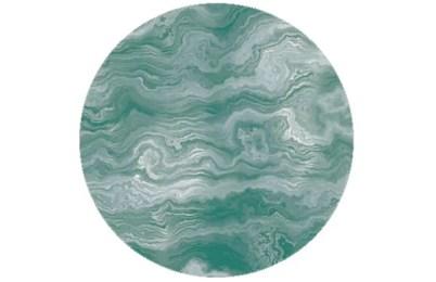 Türkise Streifen Marmor Tapete