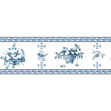 Elegante holländische Tapetenborte