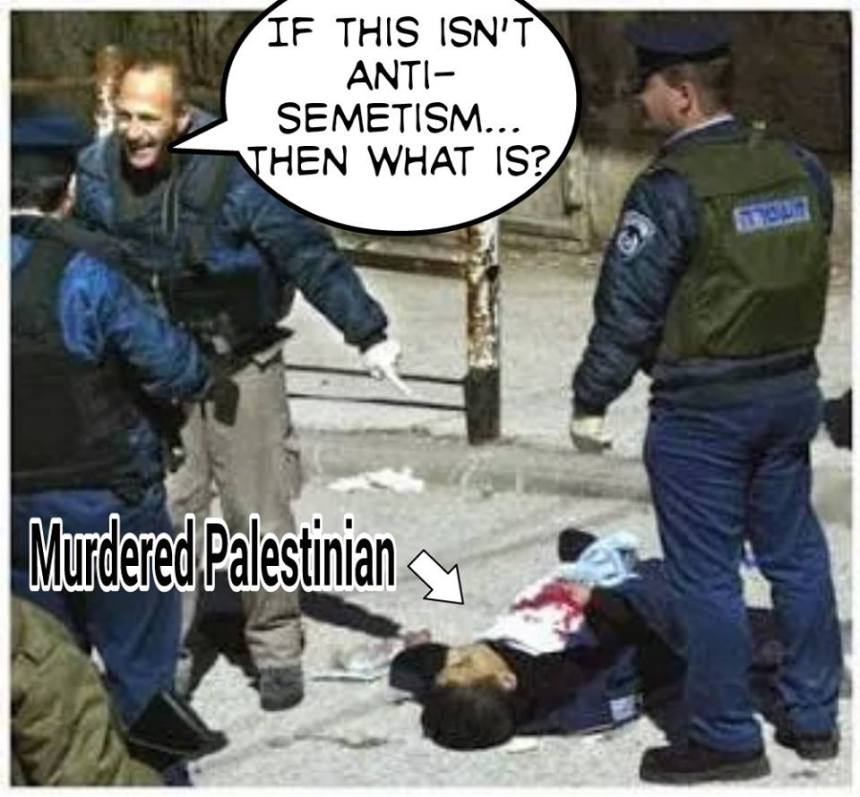 Another murdered Palestinian