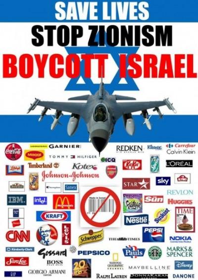 Boycott Zionism