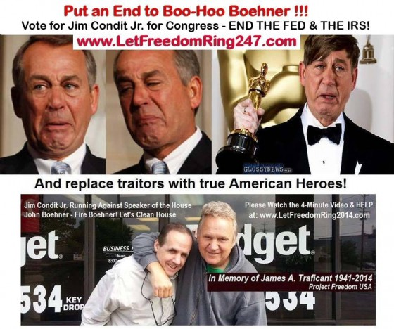 Boehner no more