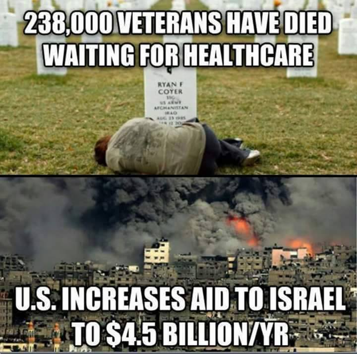 So much for Veteran care