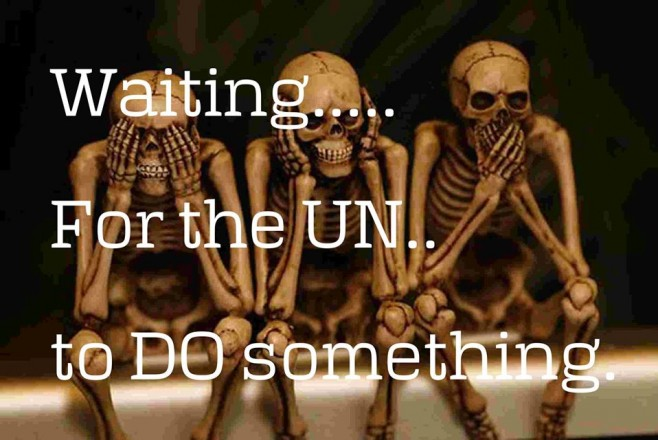 Waiting for the UN