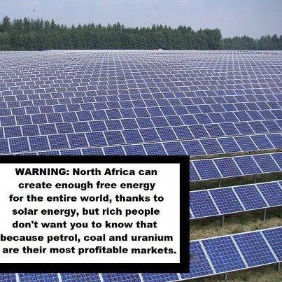 Africa providing!