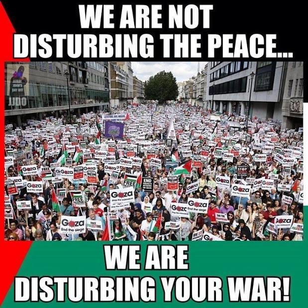 Disturbing the war