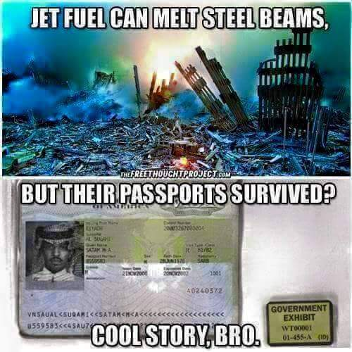 Jet fuel my arse