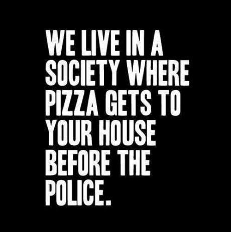 Pizza vs Police