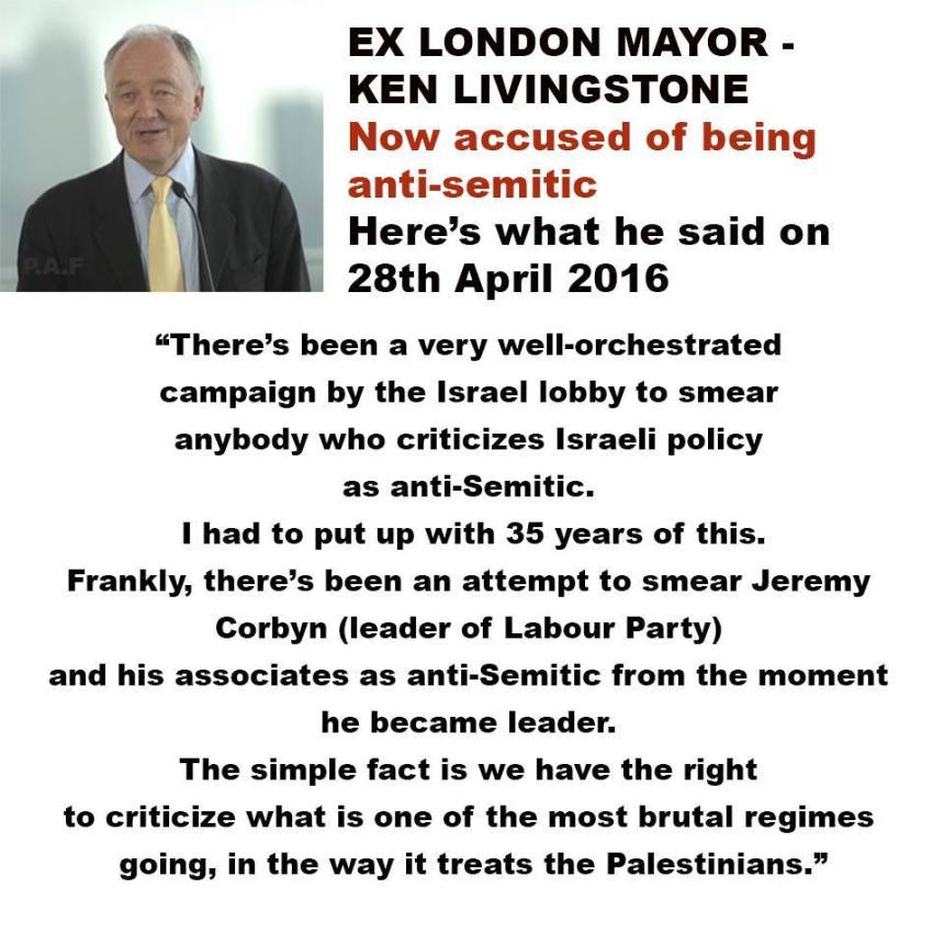 Anti-Semitism my arse!