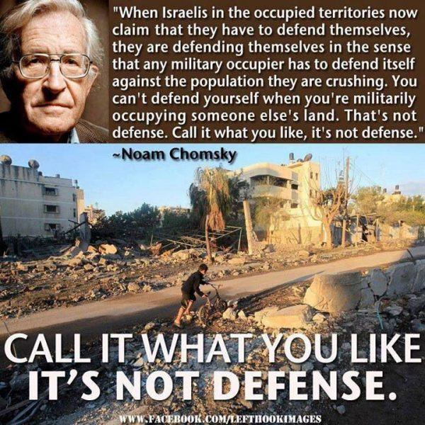 It's not defense!