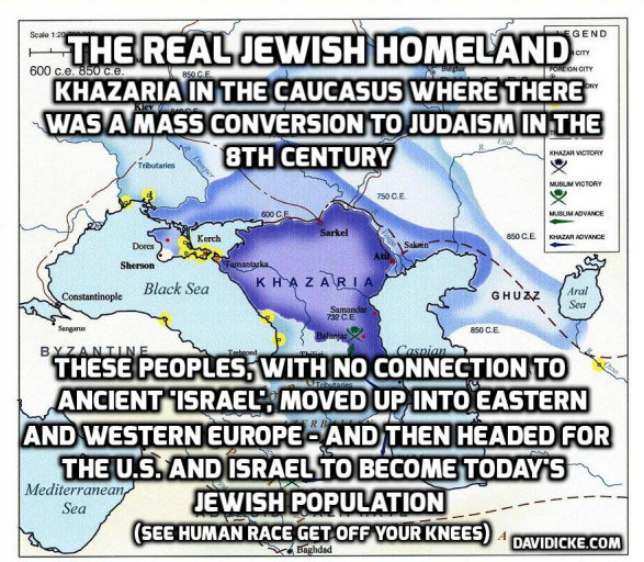 The real Zionist homeland