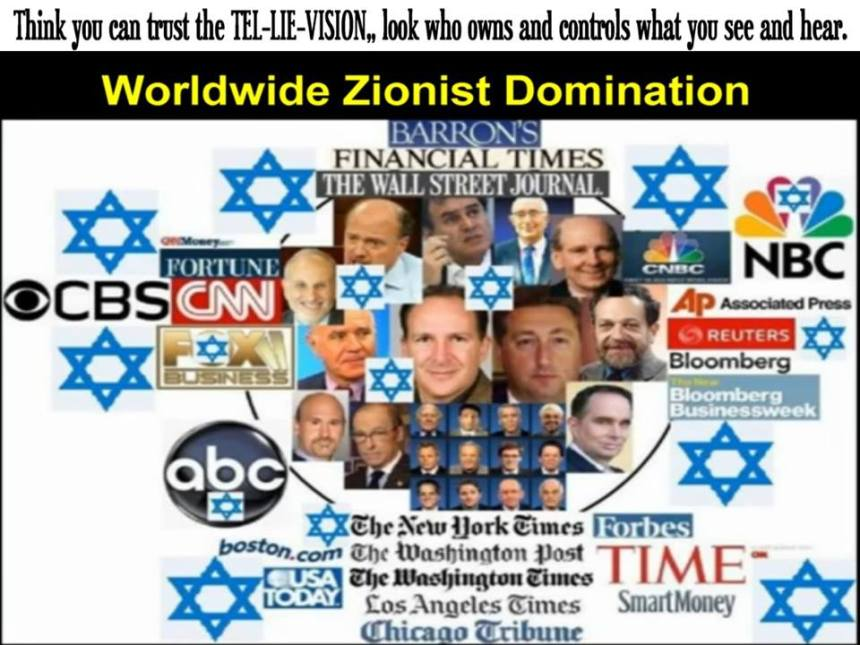 Zionist controlled media