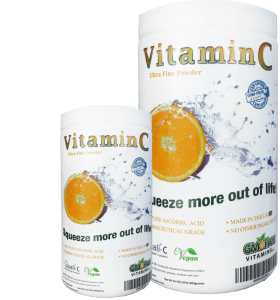 Non GMO Vitamin C Powder Made in UK