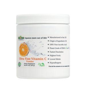 Quali-C Ultra Fine Vitamin C Front