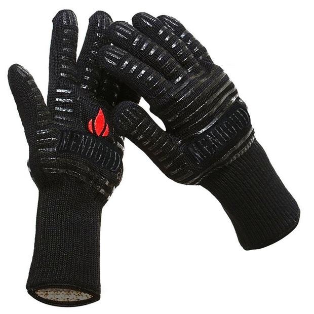 paire de gants cuisine ou barbecue anti brulure et anti coupure