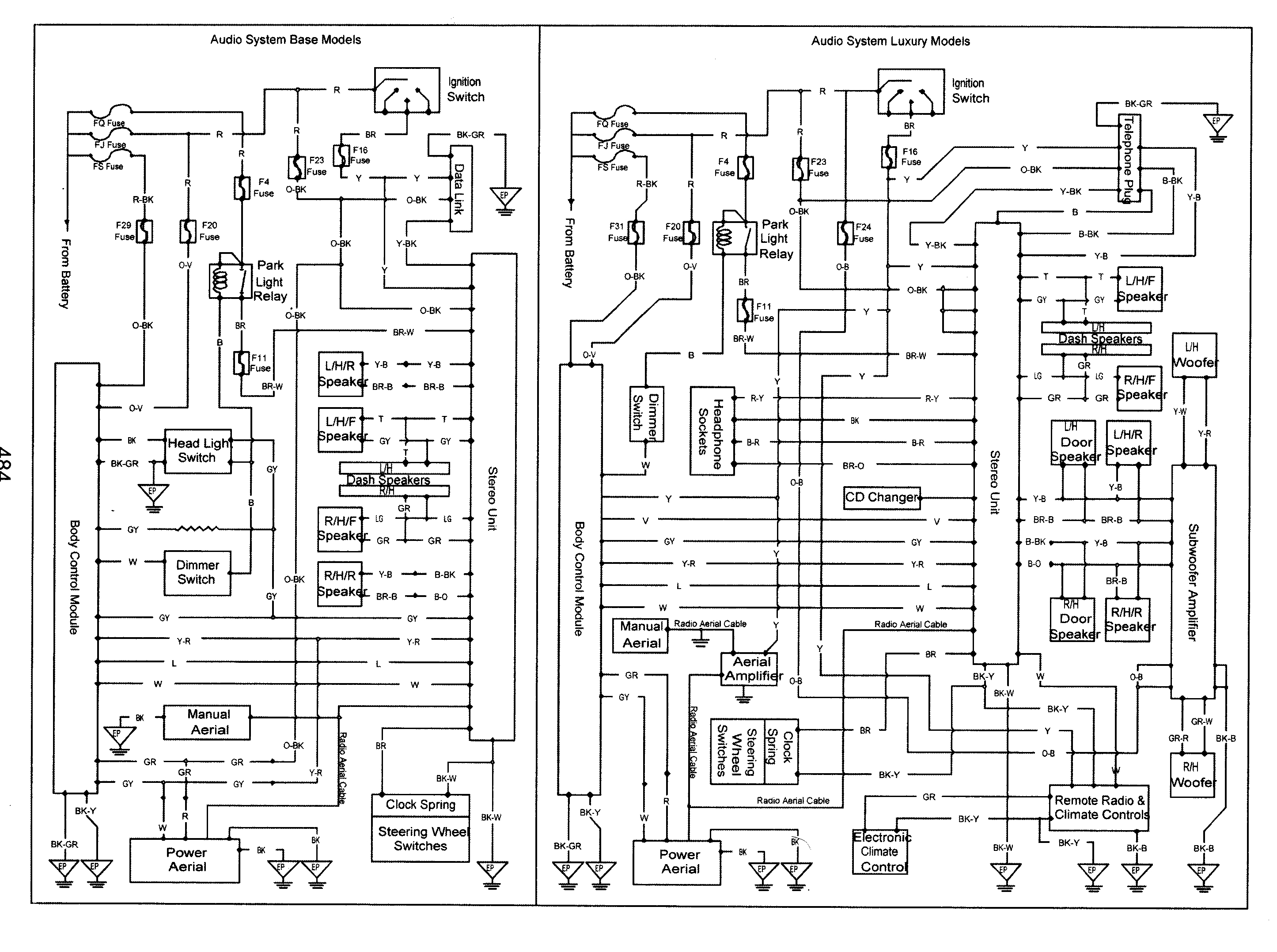 Wiring Diagram For Vt Commodore Stereo
