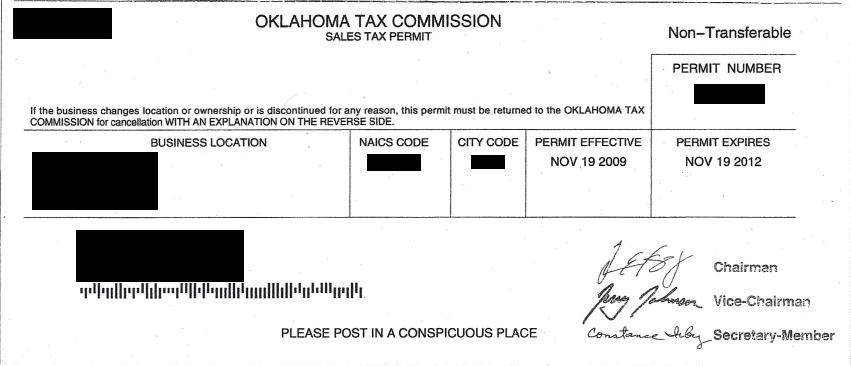 Business Tax: Business Tax Id Texas
