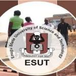 How To Check ESUT Admission List, The Status And All The Requirements You Must Know
