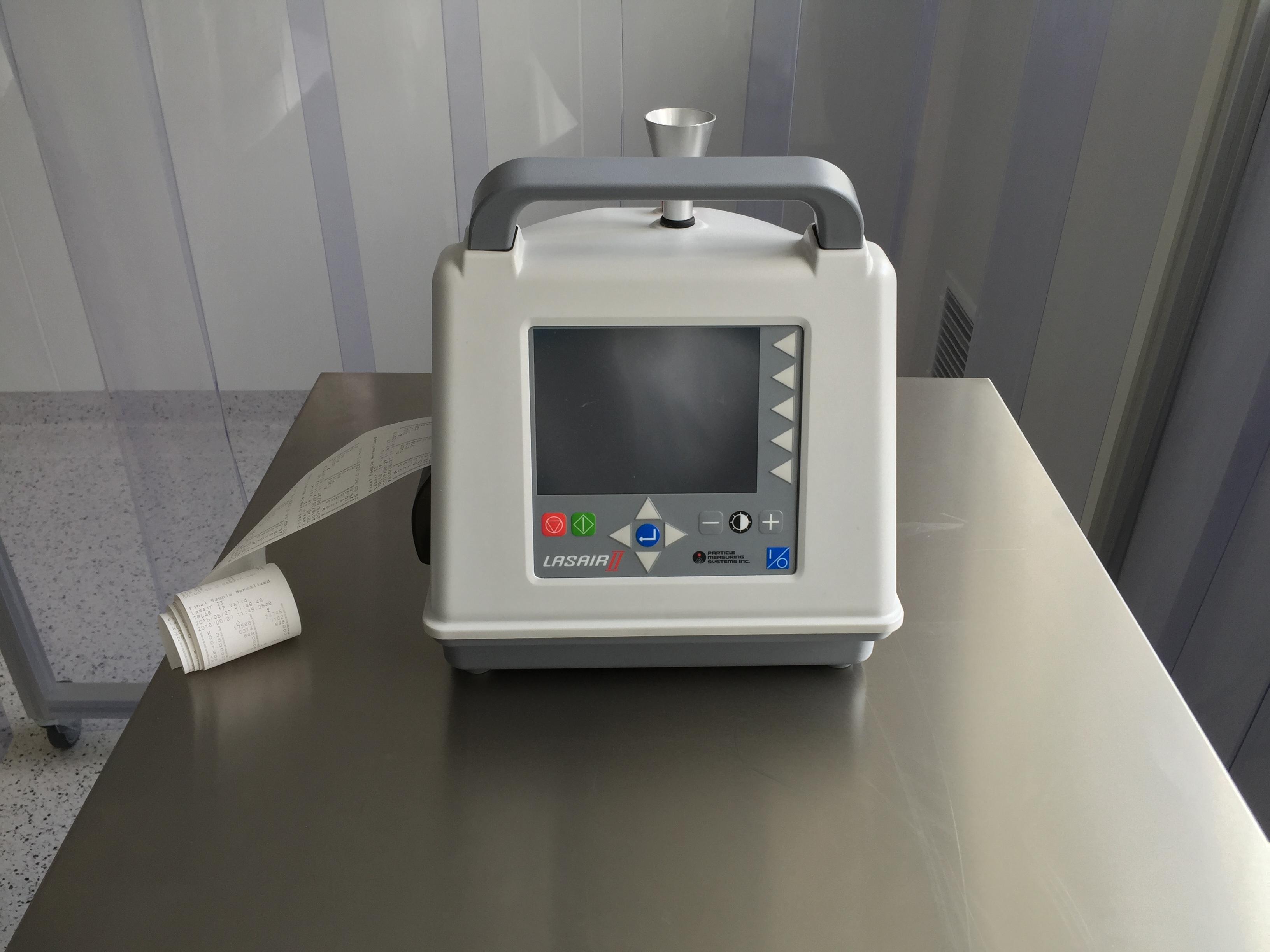 Pomiar ilości cząstek w powietrzu, Klasyfikacja pomieszczeń czystych - PN EN ISO 14644