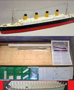 Titanic Mantua Model Panart: kit di montaggio n.1 art 725