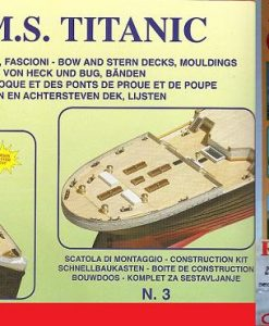 Titanic Mantua Model Panart: kit di montaggio n.3 art 727