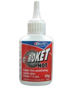 Roket hot Deluxe Materials colla cianocrilica AD43