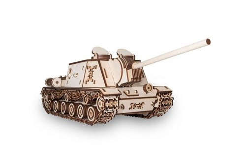 Tank ISU152 modellino in legno: EWA Eco Wood Art