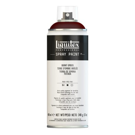 Liquitex spray colore acrilico 128 terra d'ombra bruciata 400 ml