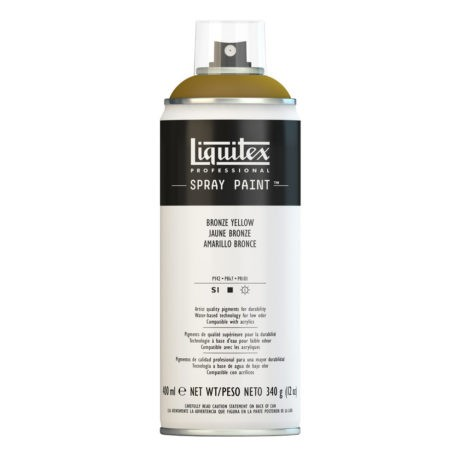 Liquitex spray colore acrilico 530 giallo bronzo 400 ml
