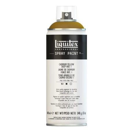 Liquitex spray colore acrilico 1163 giallo cadmio scuro 400 ml