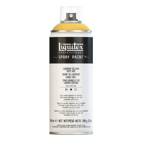 Liquitex spray colore acrilico 163 giallo di cadmio scuro 400 ml