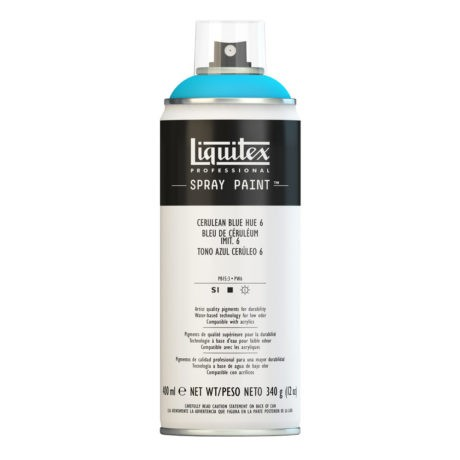 Liquitex spray colore acrilico 6470 blu ceruleo 400 ml