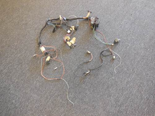 small resolution of 1968 oldsmobile cutlass dash harness with fuse box